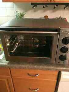 Stainless convection countertop toaster oven