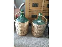 Wicker Demijohns