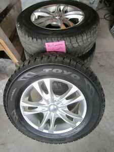 TOYO Snow Tires on decorator rims, used only six months