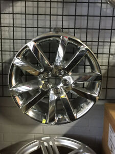 "18"" Alloy Rims for Ford Edge in chrome or silver"