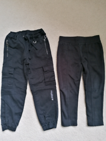 Black trousers for 4-5 years old girl