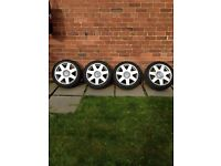 Volkswagen alloy wheels 5x100