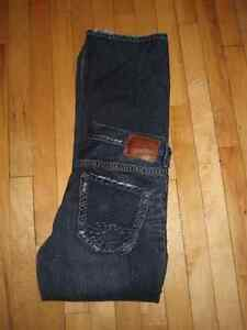 Men's Brand New Silver Jeans