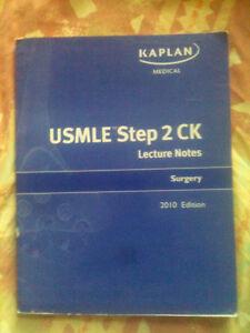 USMLE Step 2 CK Lecture Notes Surgery 2010 Edition Kaplan Medica