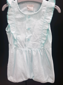 Baby girls dress top brand new without Tag from mamas & Papas