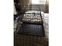 Small/medium dog crate - suitable for car