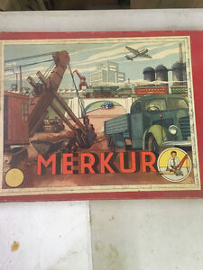 Vintage Merkur Construction Set like Meccano Regina Regina Area image 8