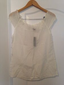 New theory white top, S
