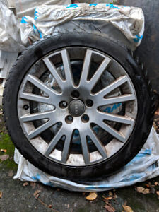 Audi summer tires and rims to sell