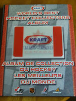 ALBUM DE HOCKEY KRAFT 1997-98 COMPLET