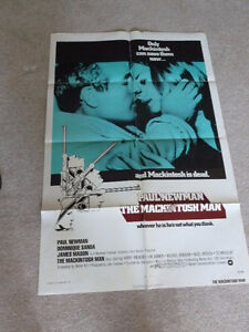 Macintosh Man 27 x 41 Original Film Poster starring Paul Newman London Ontario image 1