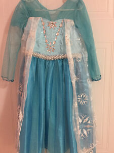 Elsa Frozen princess dress - size 4T Cambridge Kitchener Area image 1