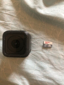 Go Pro hero session 5 + memory card for iphone trade