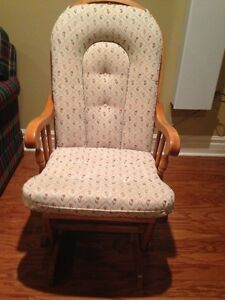 Solid rocking chair; excellent condition