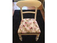 Chair white Matt painted