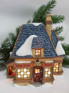 Department 56 Christmas Dickens' Village Candle Shop