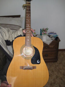 EPIPHONE GUITAR WITH CASE