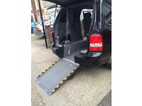 *L@@K**56 REG KIA SEDONA BLACK WHEELCHAIR ADAPTED VEHICLE LOW MILEAGE like Voyager kangoo vito doblo