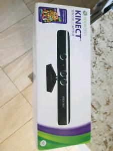 Kinect pour XBOX 360 avec trois cd