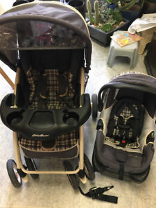 b44eed5e1690 Eddie Bauer Baby Travel System