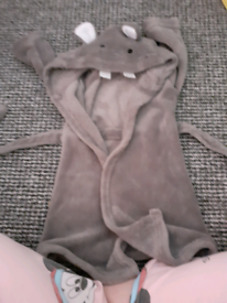 9-12 months dressing gown