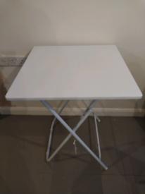 Small folding tressle table