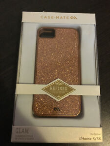 CASEMATE REFINED COLLECTION - GOLD IPHONE 5/5S/SE CASE