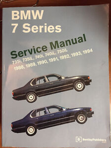 BMW Seven Series Workshop Manual 1988-1994