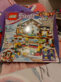 REDUCED Lego friends brand new winter house and ice rink