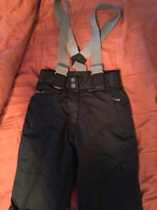 GIRLS BLACK YOUTH FIREFLY SNOW PANTS