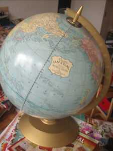 Imperial 12 inch Desk Top World Globe