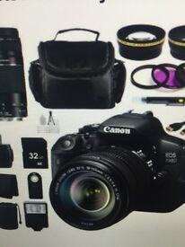 Canon 700D bundle for sale