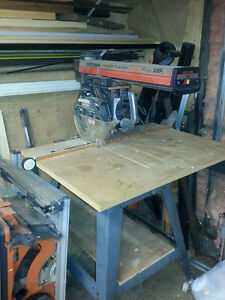 "10"" craftsman radial arm saw great condition"