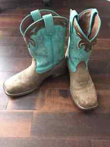 Kids western riding boots