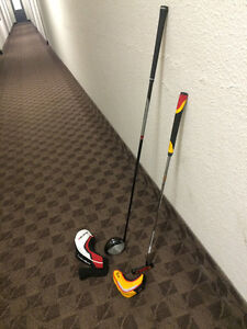 TaylorMade Driver and Putter