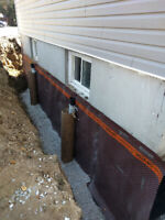 WATER PROOFING. FOUNDATION REPAIRS. STRUCTURAL REPAIRS