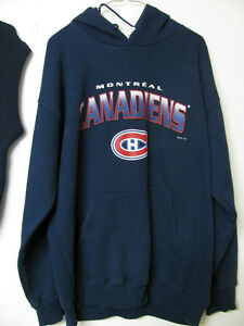 MONTREAL CANADIENS SWEATER HOODY AND VEST FREE