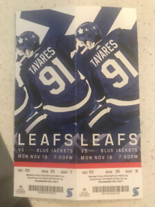 Toronto Maple Leaf Tickets for Sale!