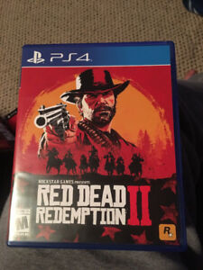 Red Dead Dedemption 2 -MINT
