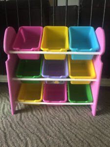 Dora Toy Organizer with Buckets
