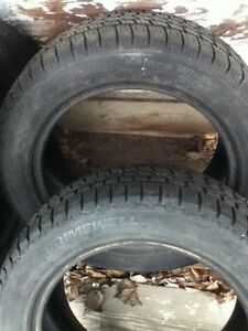 (2) 205 55 16 PRIMEWELL VALERA WINTER TIRES FOR SALE