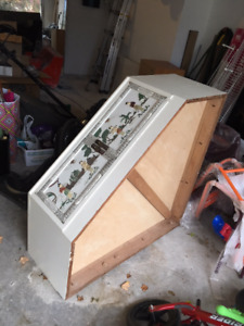 Unique Asian Triangular Cabinet