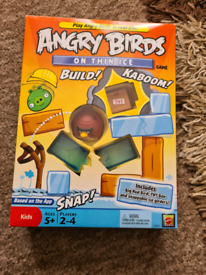 Angry birds on thin ice game. New and complete