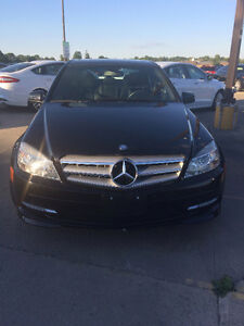 2011 Mercedes-Benz C250 AWD with Full Warranty until June 2019