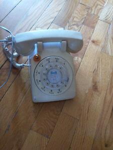 Téléphone à cadran fonctionnelle