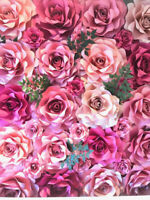 Paper flower wall backdrops