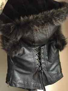 Cruelty Free Genuine Leather Vest Strathcona County Edmonton Area image 4