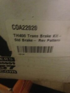 Coan TH400 Trans Brake kit Rev Pattern