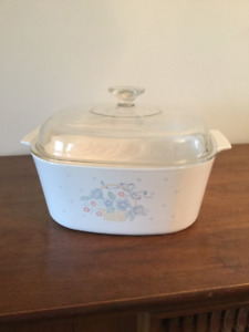 Corning ware vintage 5L casserole dish with lid
