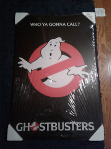 Ghostbusters mounted poster